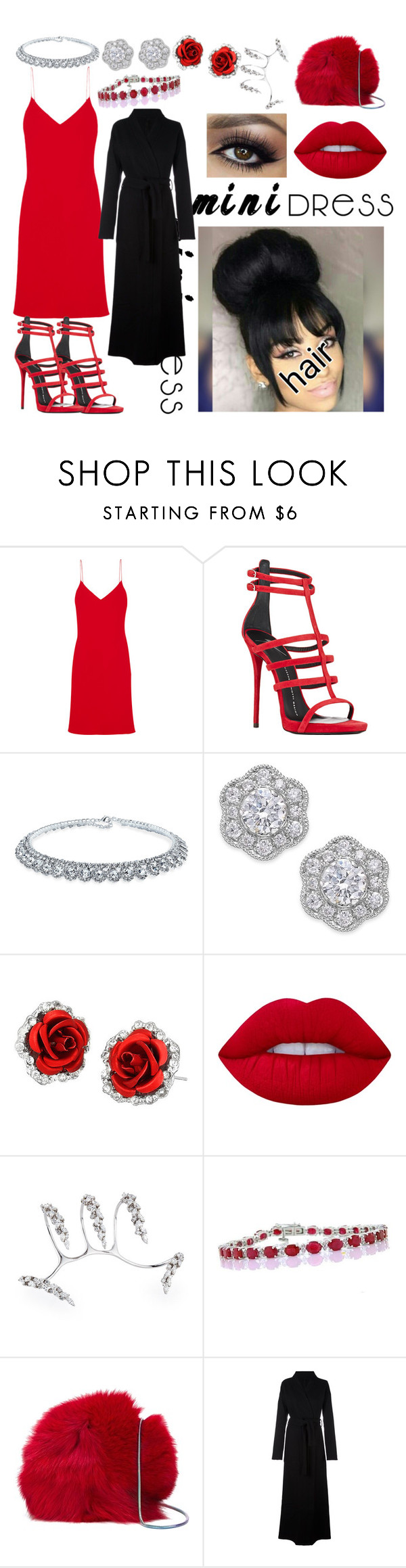 """""""Aries always Dress to Kill"""" by sheismisslewis ❤ liked on Polyvore featuring Calvin Klein Collection, Giuseppe Zanotti, Bling Jewelry, Marchesa, Lime Crime, Yeprem, Diane Von Furstenberg and Unravel"""