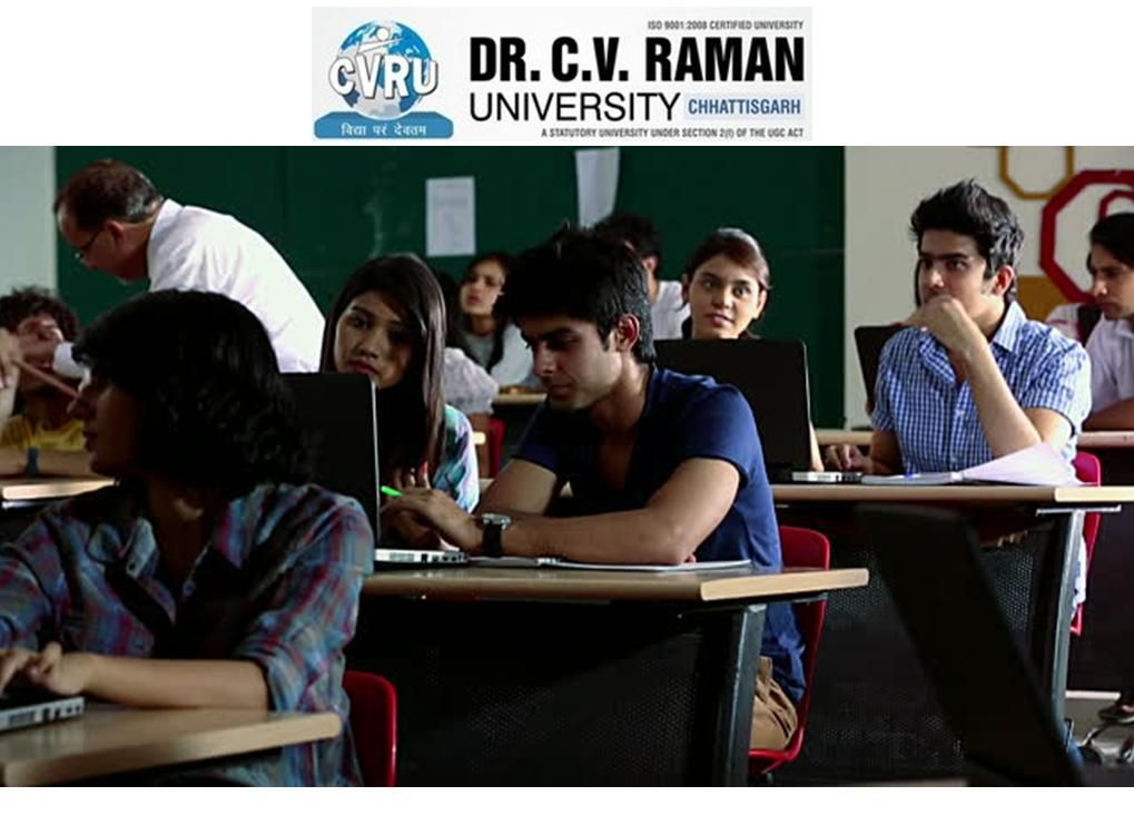 Dr c v raman university is the best university in india