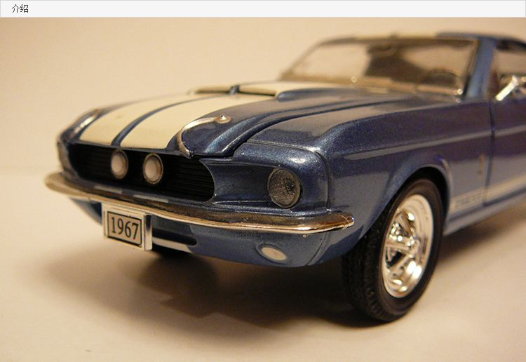 1 32 Scale 1967 Ford Mustang Shelby Gt 500 Muscle Car Ford Mustang Shelby Gt Ford Mustang Shelby