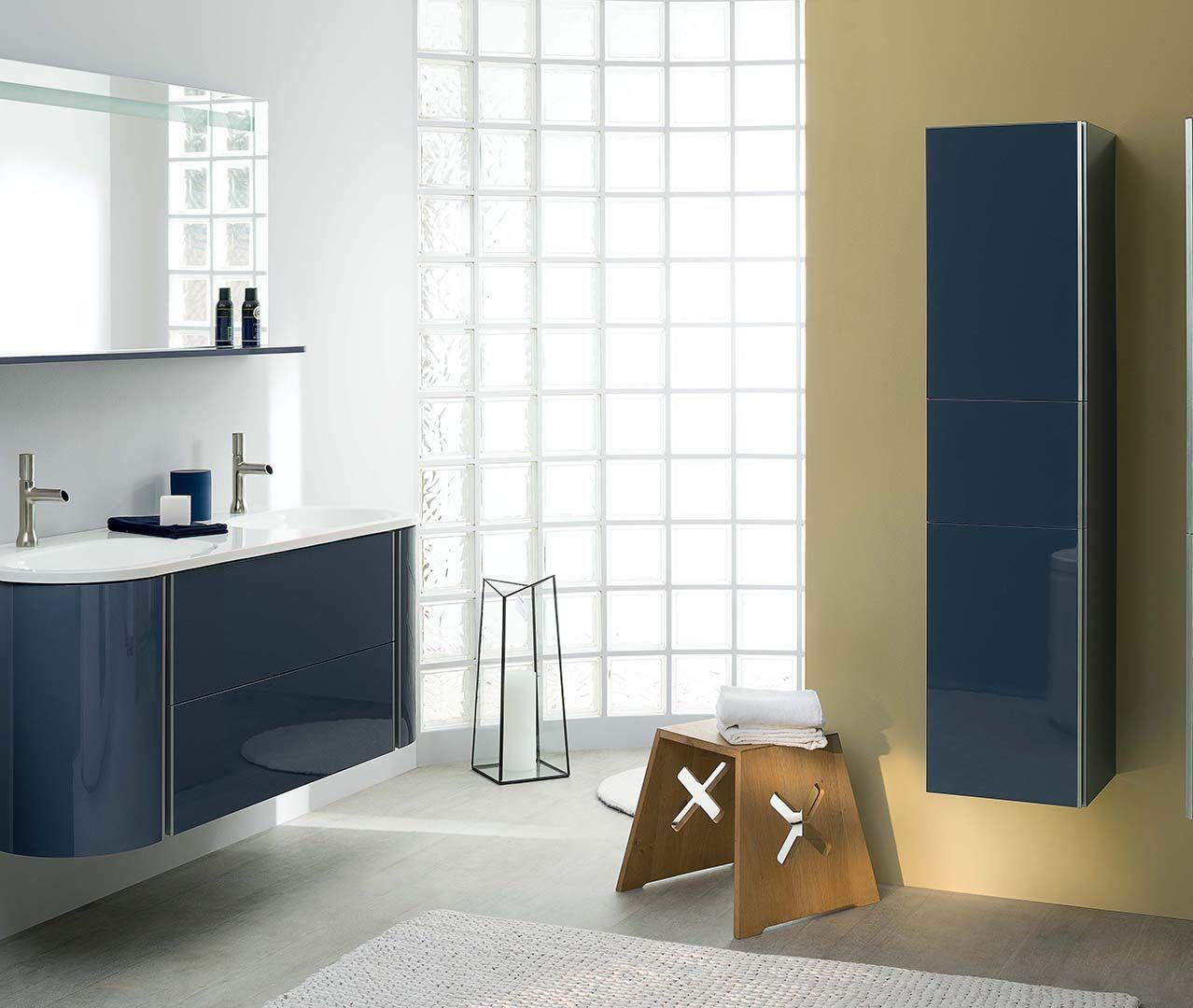 Choisissez un meuble-vasque bleu foncé galaxy pour votre ...