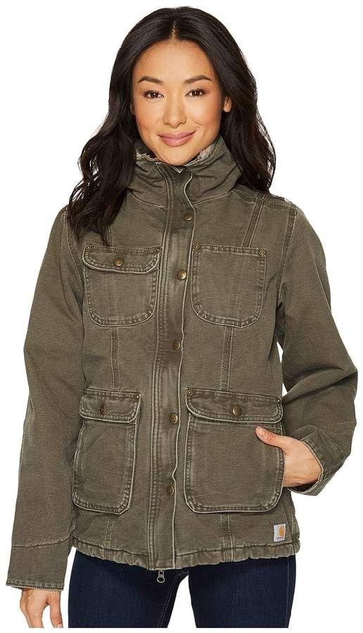 688f4875dd53b Carhartt Weathered Duck Wesley Coat Women's Coat | Products ...