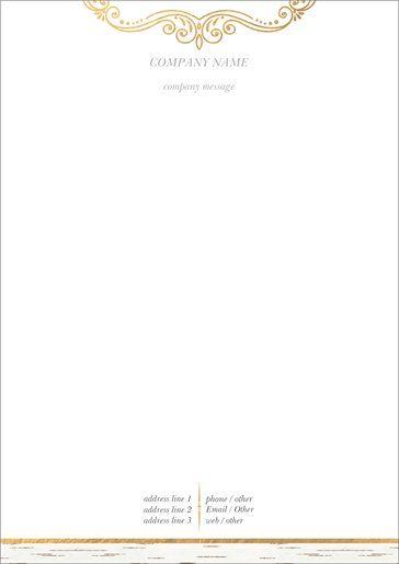 A Letterhead A Letterhead Designs Custom A Letterhead Page