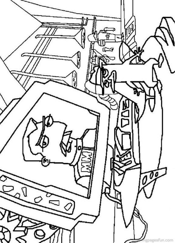 Phineas and Ferb Coloring Pages 1 Coloring sheets