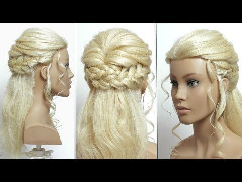 Easy Party Hairstyles Knotted Headband Amp Ponytail Youtube Party Hairstyles For Long Hair Long Hair Styles Party Hairstyles