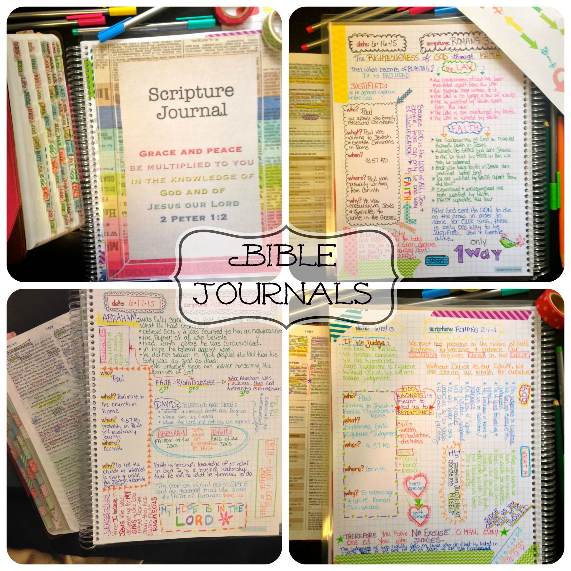 Bible Journals To Use For Bible Study Love These Cute