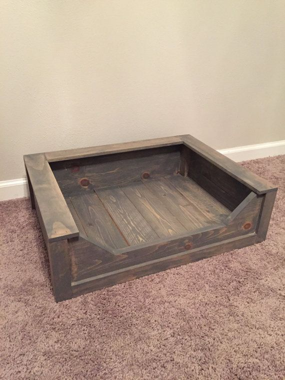 Build For Pillow That Is 20x28 Inches 3 Of Them Wooden Dog Bed