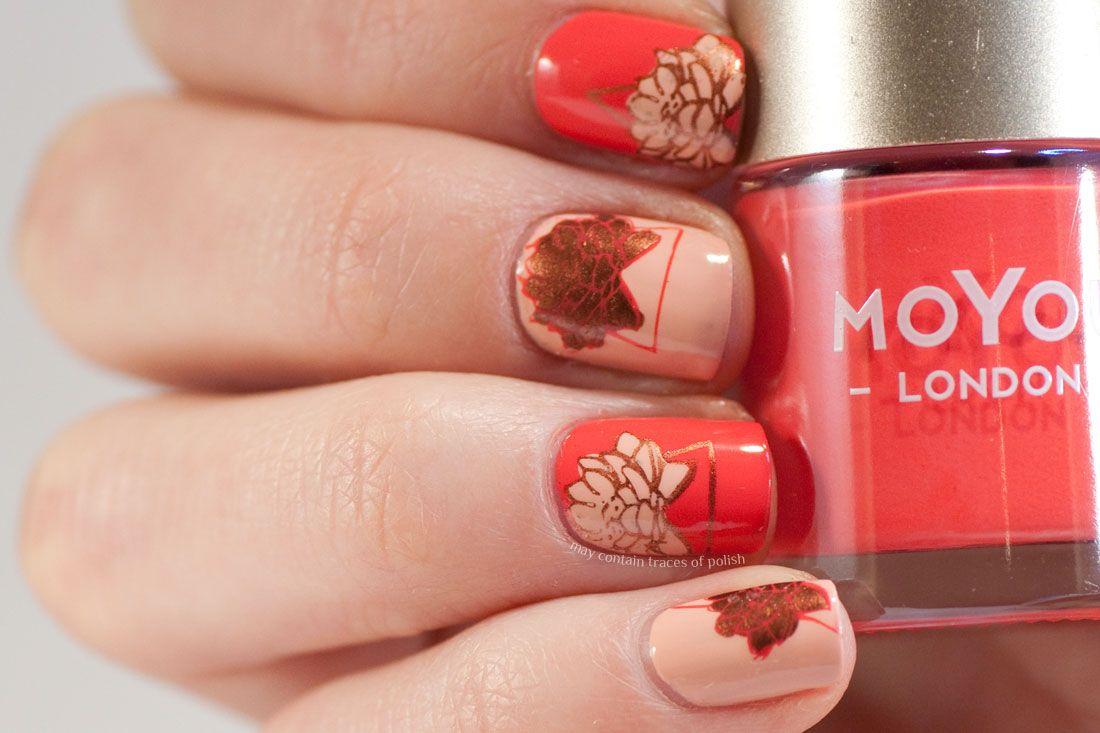 Geometric Lotus Nails | Lotus and Minimalist nails