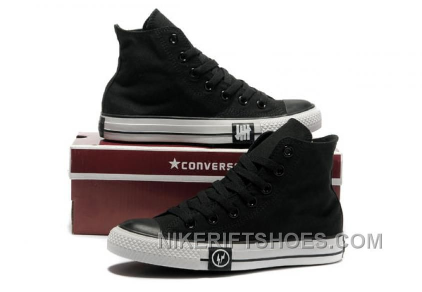 4be469a12291 Black CONVERSE High Tops Lightning Chuck Taylor All Star Canvas Shoes For  Sale XMKtC