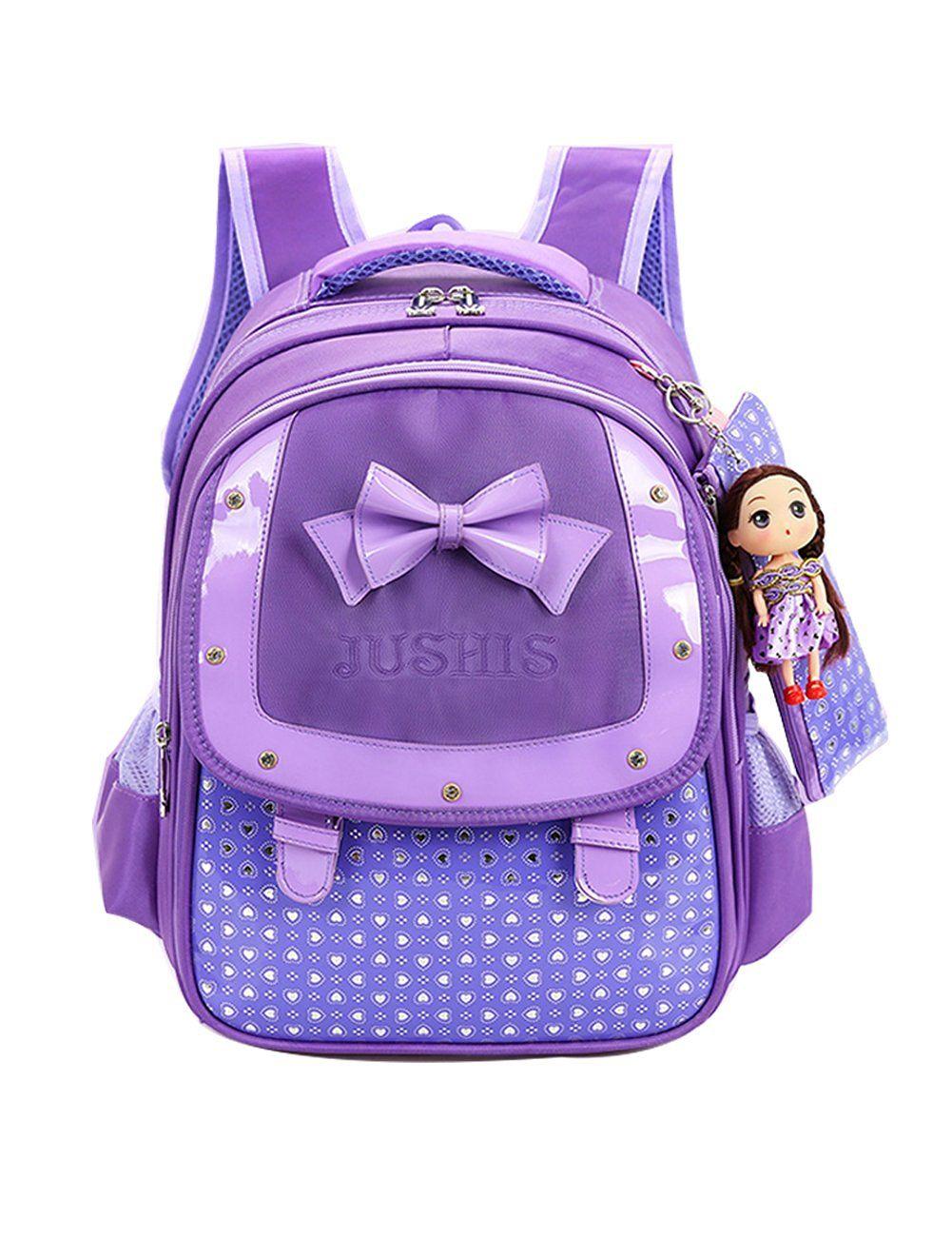 Cute Elementary School Kids Backpack for Girls 1~4 grade 0d40aff63963a