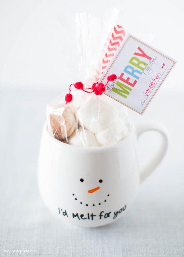 Diy Painted Mug Gift Idea Manualidades Navidenas Para Ninos Navidad Diy Artesanias Navidenas