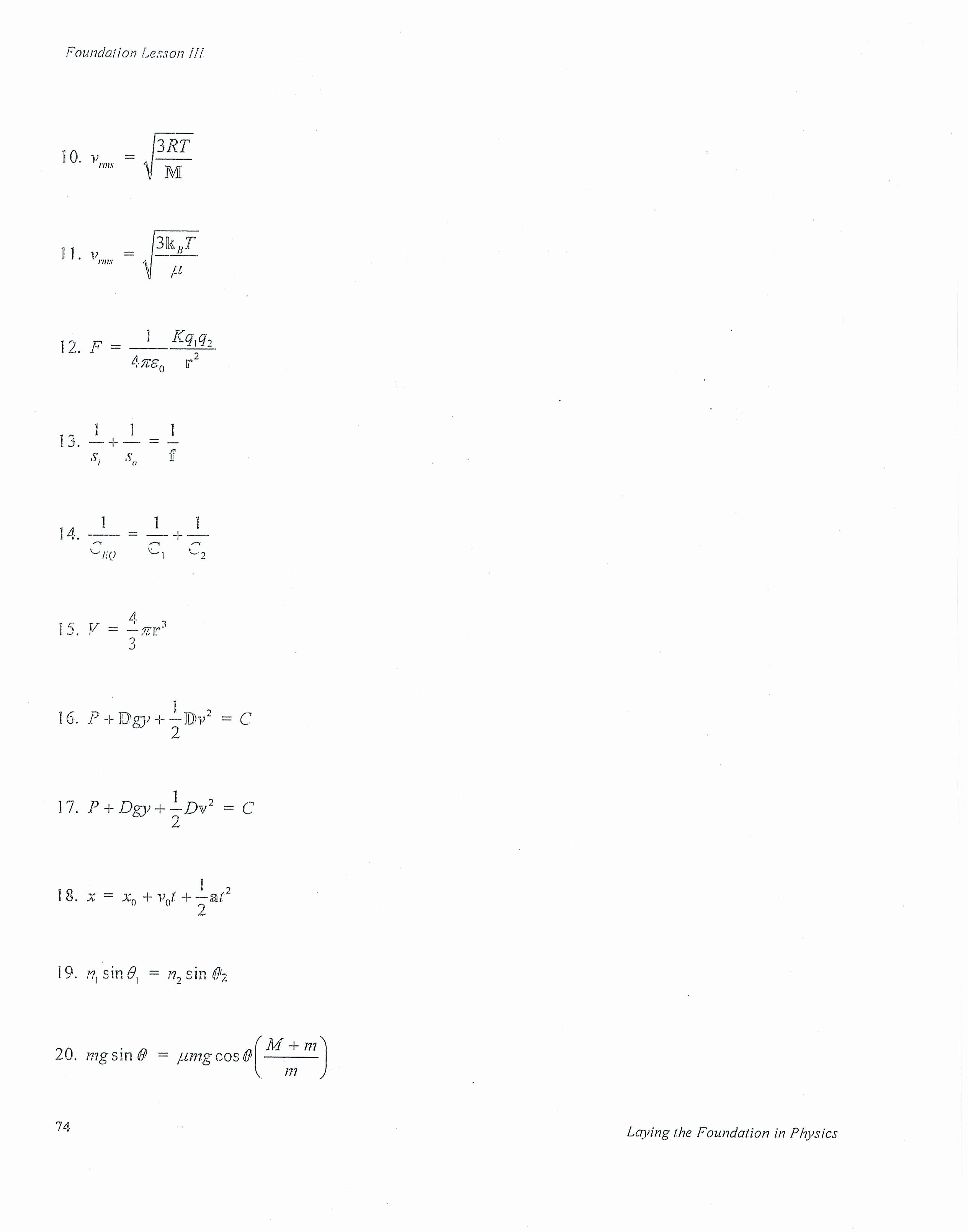 Literal Equations Worksheet Answer Key Beautiful Solving