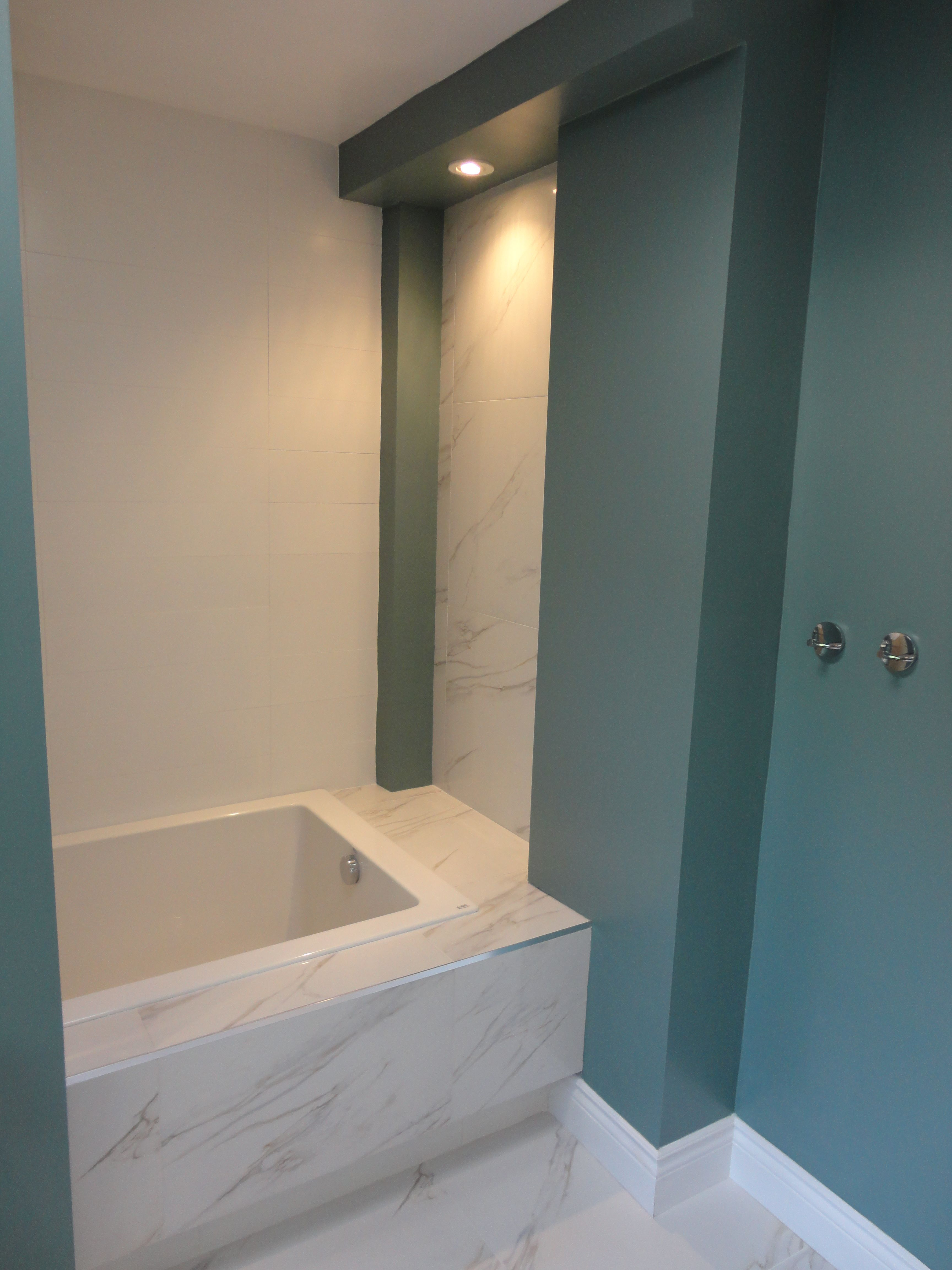 Captivating Townhouse Bathroom Expansion From 4x8 To 8x12