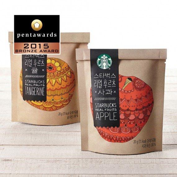 Bronze Pentaward 2015 Food Starbucks Coffee Korea