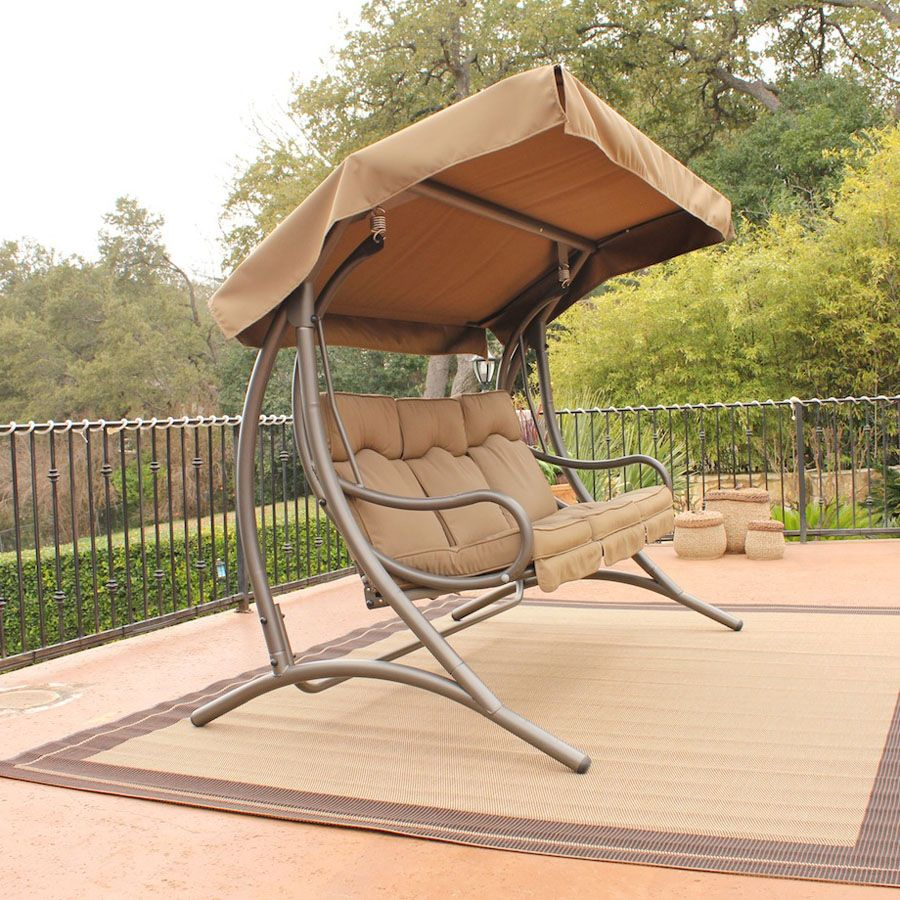 garden swings and gliders stc sw319c santa fe glider outdoor