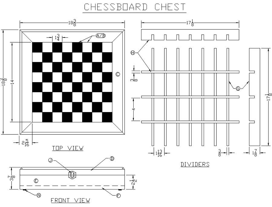Chessboard Dimensions Build A Chessboard Chest From Lee S Wood Projects Free Woodworking Woodworking Plans Free Wood Projects For Beginners Chess Board