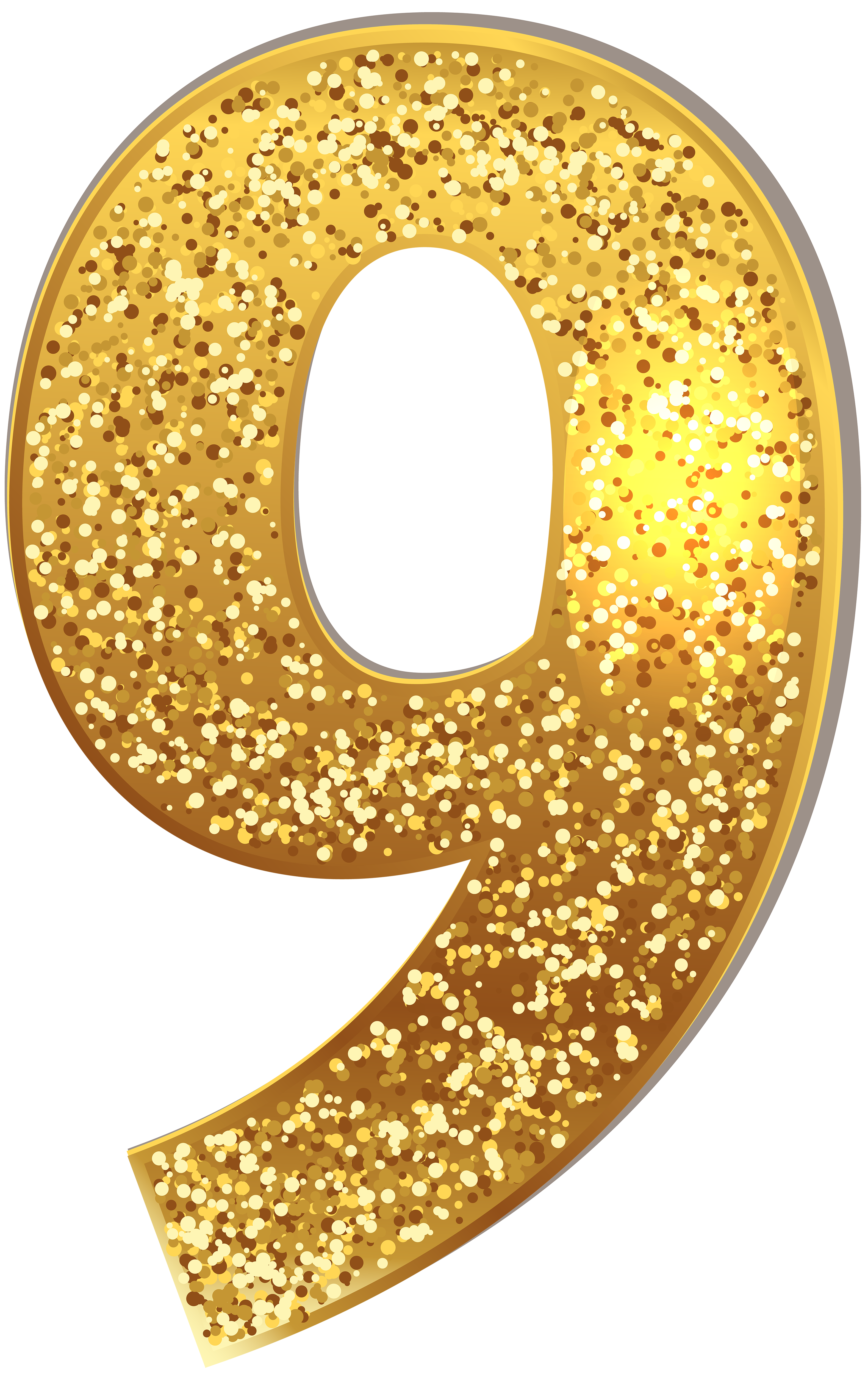 Number Nine Gold Shining Png Clip Art Image Gallery Yopriceville High Quality Images And Transparent Png Free Clipart Clip Art Free Clip Art Art Images
