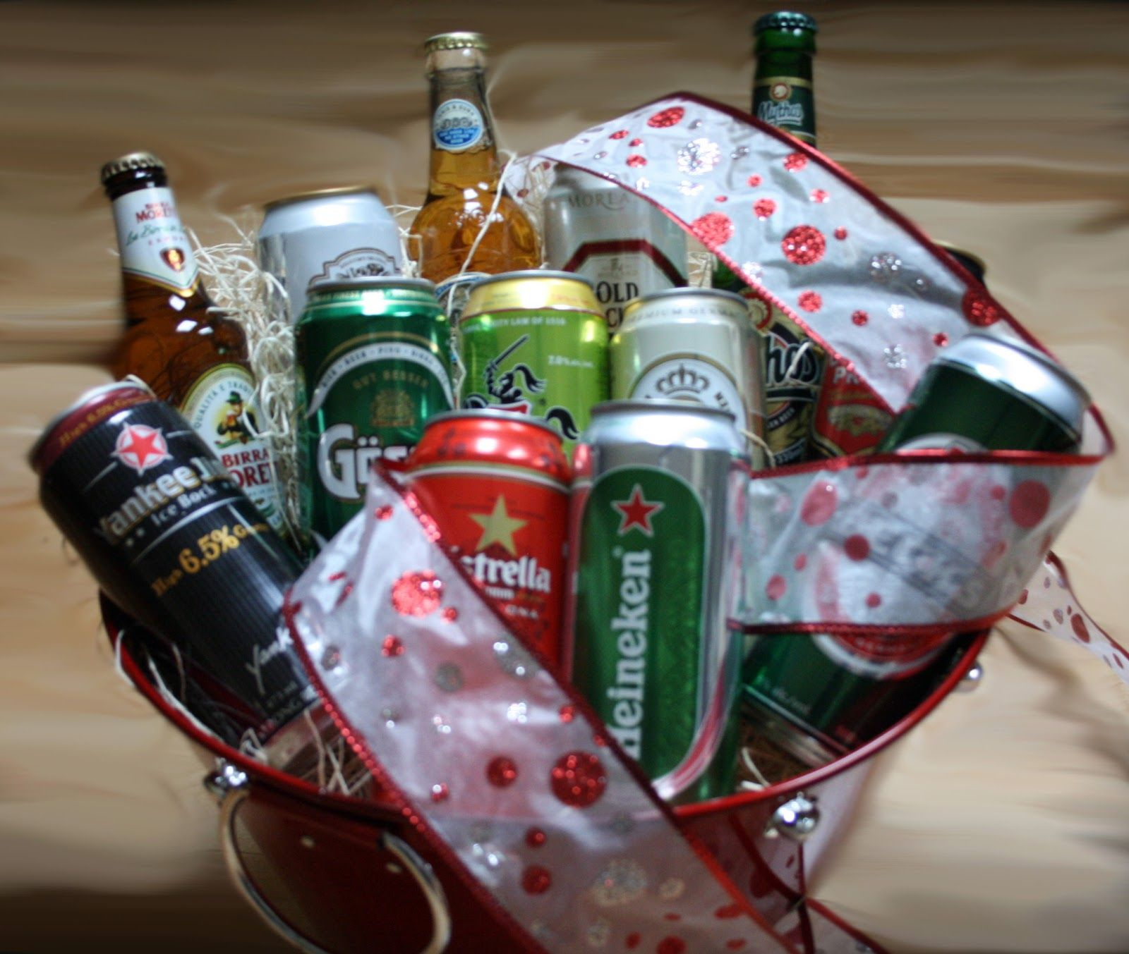 Beer sampler bucket the perfect gift for the lover of