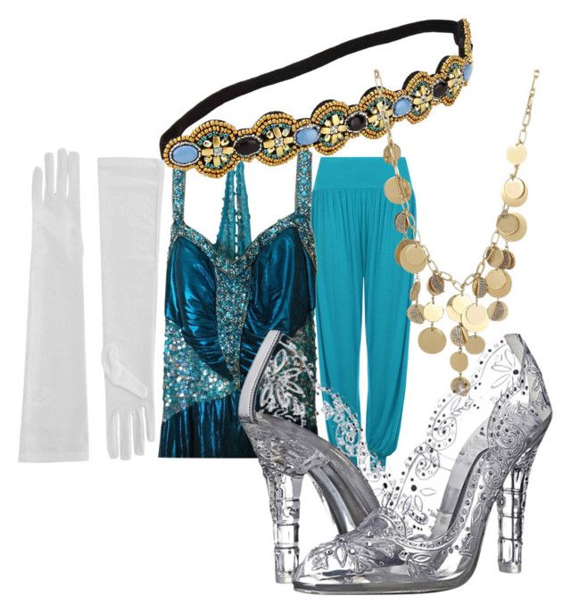 """New Year's Eve-Blue, Gold, and Silver Beads"" by rachel-lesch on Polyvore featuring WearAll, Kenneth Cole and Dolce&Gabbana"