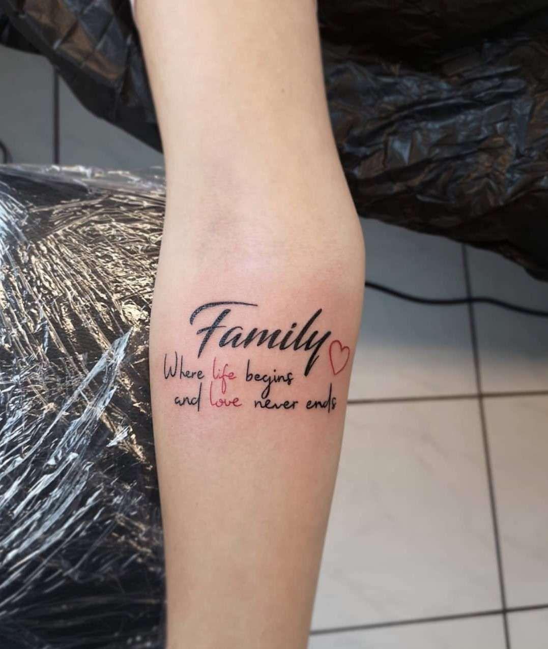 47+ Tatouage pour la famille inspirations