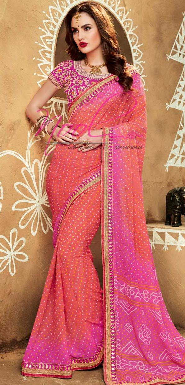 http://www.nool.co.in/product/sarees/tie-and-dye-printed-saree-peach ...