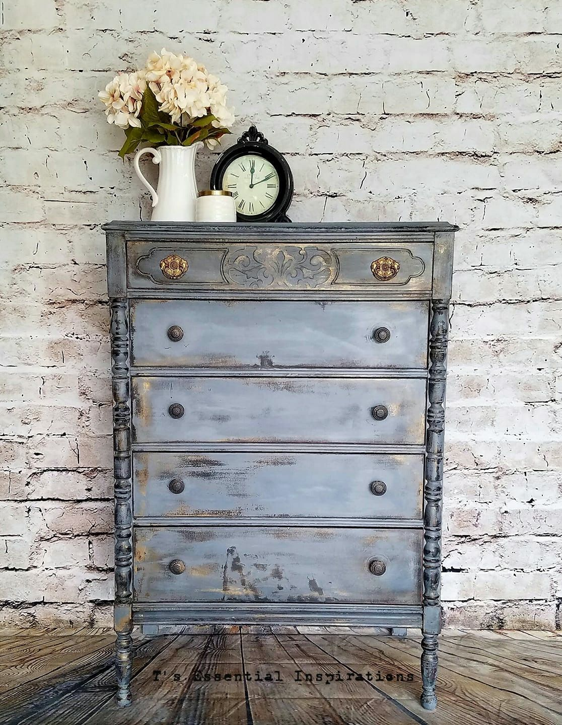 Shabby Chic Dressers Vintage Furniture Ideas Chalk Paint Repurposed