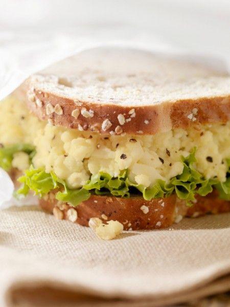 Schnelles Eier-Sandwich