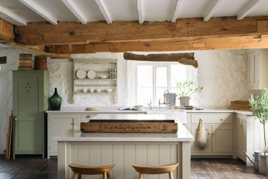 Photo of 21 Beautifully Rustic English Country Kitchen Design Details to Add Charming European Country Style – Hello Lovely