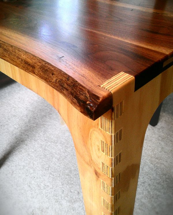Table Plywood And Hardwood Cnc Inspiration Woodworking