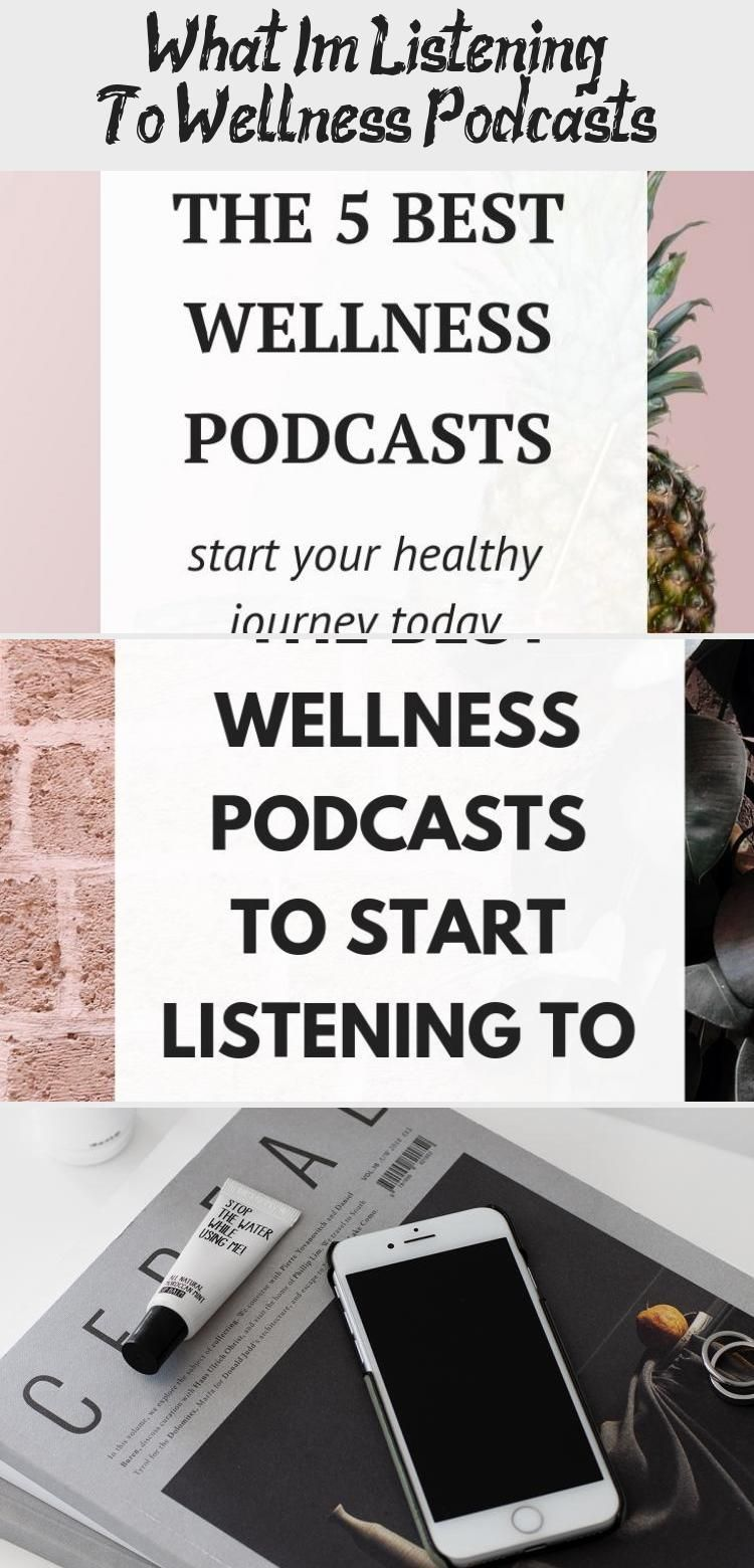 Get inspired by these 5 awesome wellness podcasts /// wellness tips / podcasts / healthy lifestyle tips