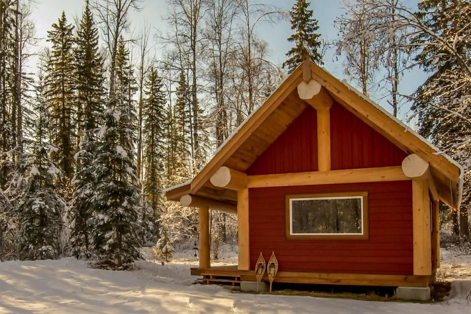 A Small Post And Beam Cabin In British Columbia A