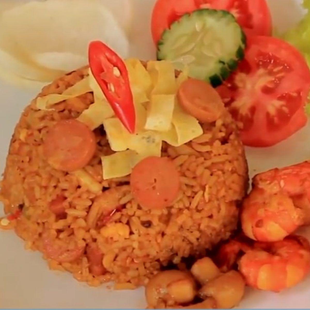 White Rice In English Makanan Nasi Goreng Nasi