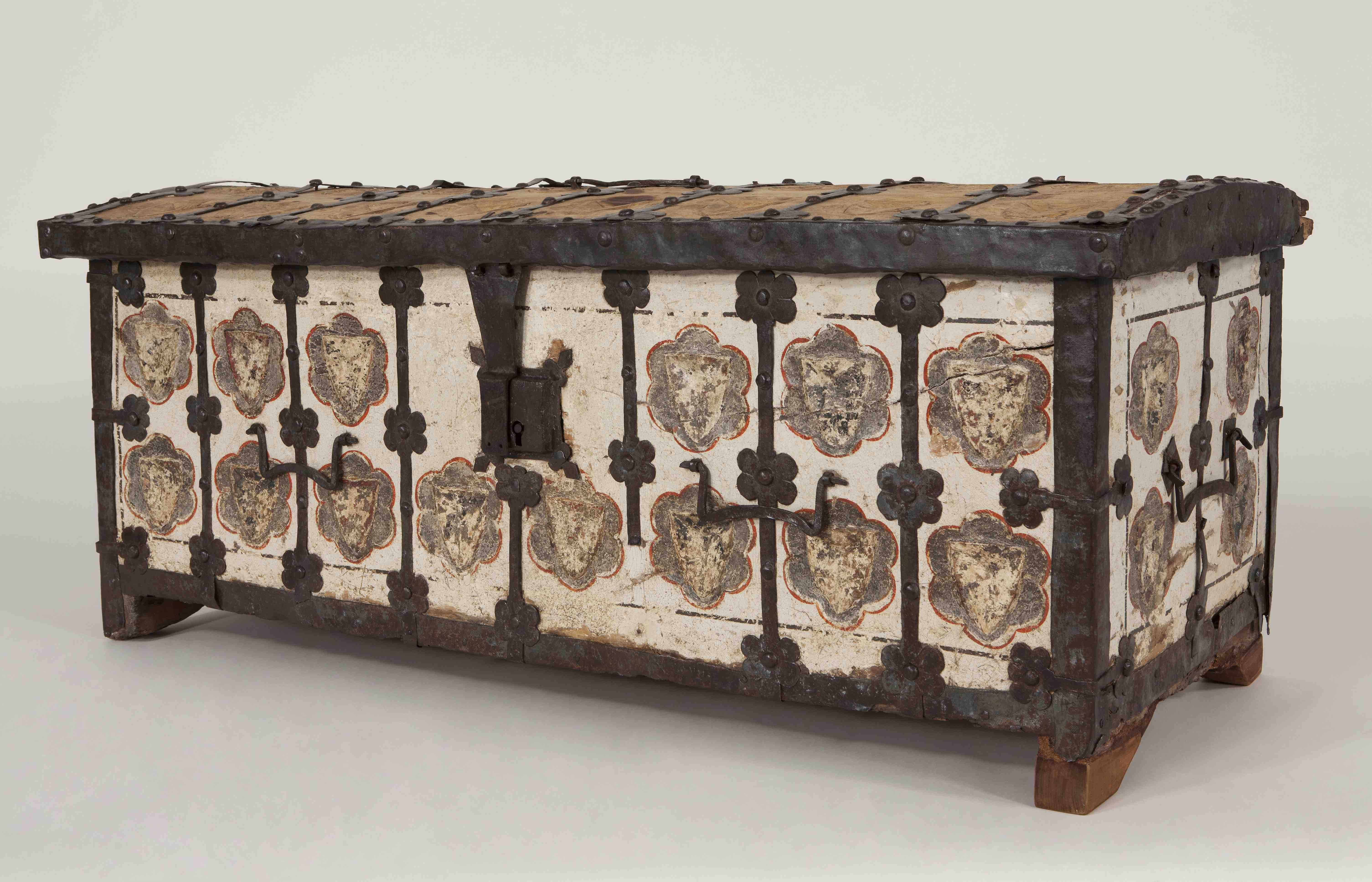Cofre. Barcelona (?), segle XIV. Donació Junta de Museus, 1932