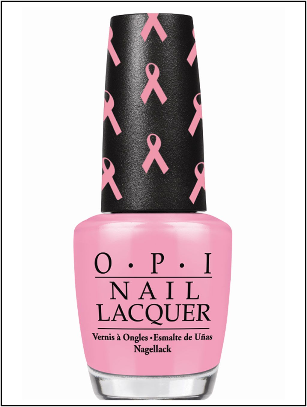 OPI- Think pink/ pink (Breast cancer awareness month. Save the ...