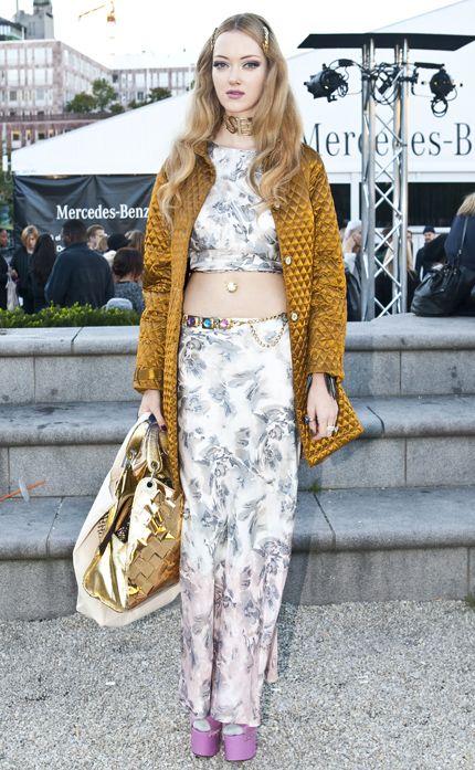 Emma Veronica Johansson wearing Rützou SS12 top and skirt 5478e08cf