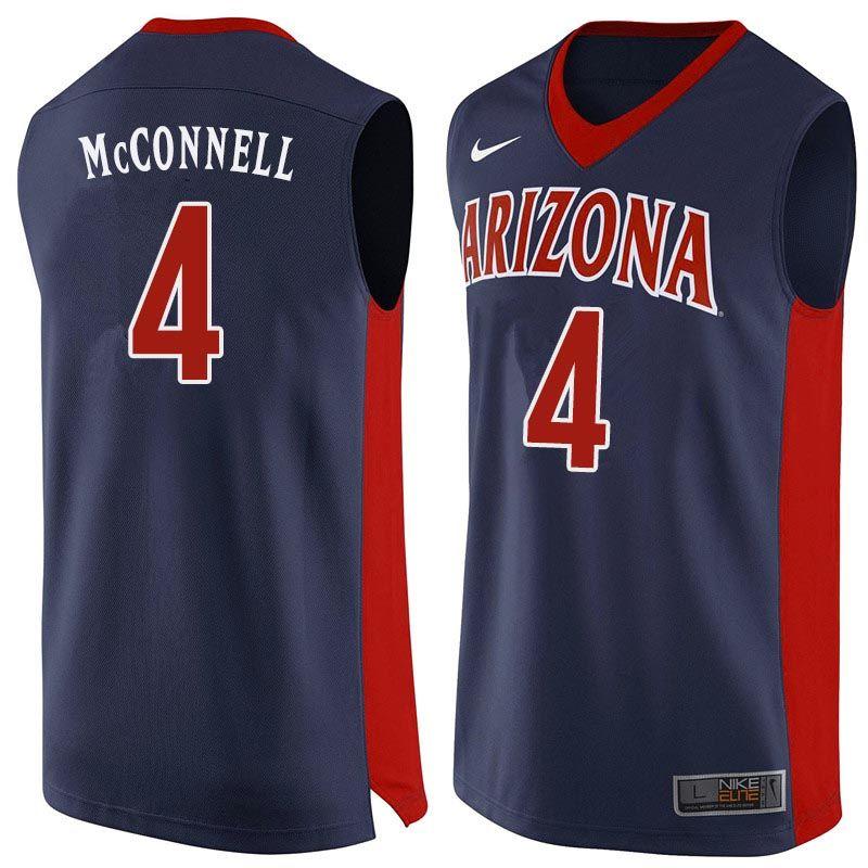 Men arizona wildcats 4 tj mcconnell college basketball