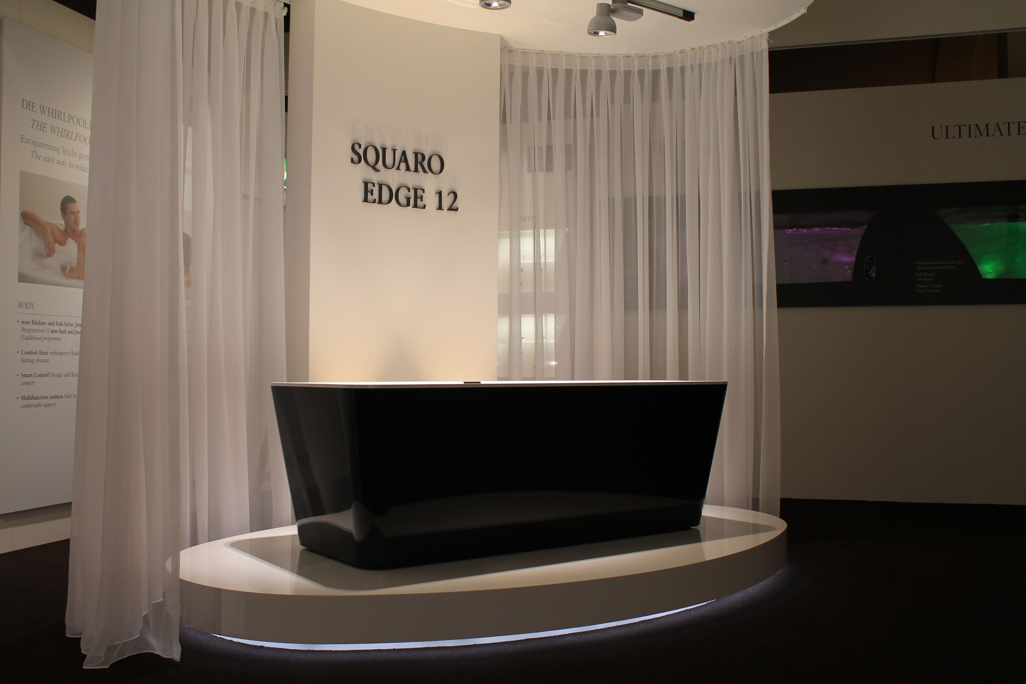 squaro edge 12 bathtub ish 39 13 villeroy boch villeroy boch events pinterest. Black Bedroom Furniture Sets. Home Design Ideas