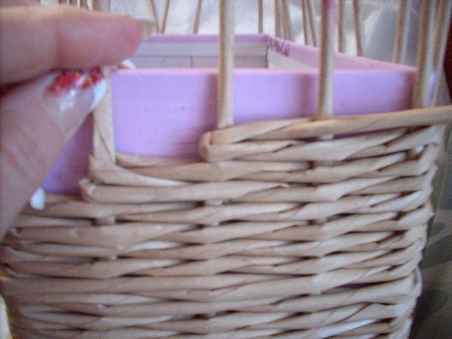 f7b11b4ae Moje pletení z papíru - Fotoalbum - NÁVOD - NA NETRADIČNÍ PLETENÍ - NÁVOD -  NA ZKOSENÉ STRANY KOŠE