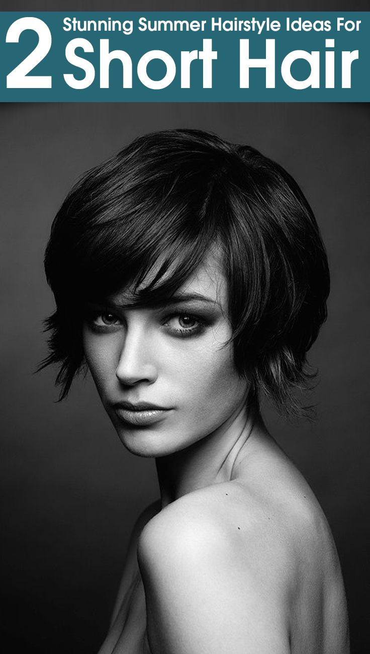 foto de 2 Stunning Summer Hairstyle Ideas For Short Hair With