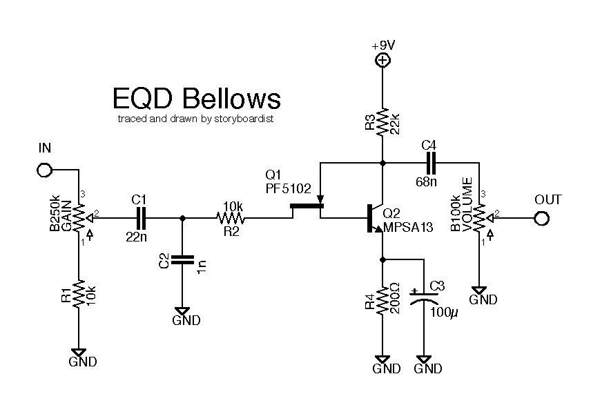 For Fuzz Friday Here S The Bellows From Earthquaker I Picked Up One Of These Late Last Year And Was Able To Trace I Earthquaker Devices Bellows Guitar Effects