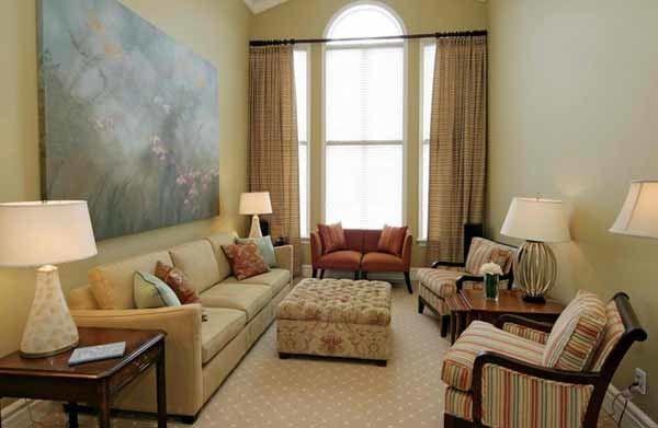 Kursi Sofa Sederhana Untuk Ruang Tamu Kecil Memanjang