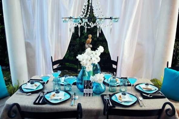 3 repurposed decor ideas for a summer dinner party at home | party