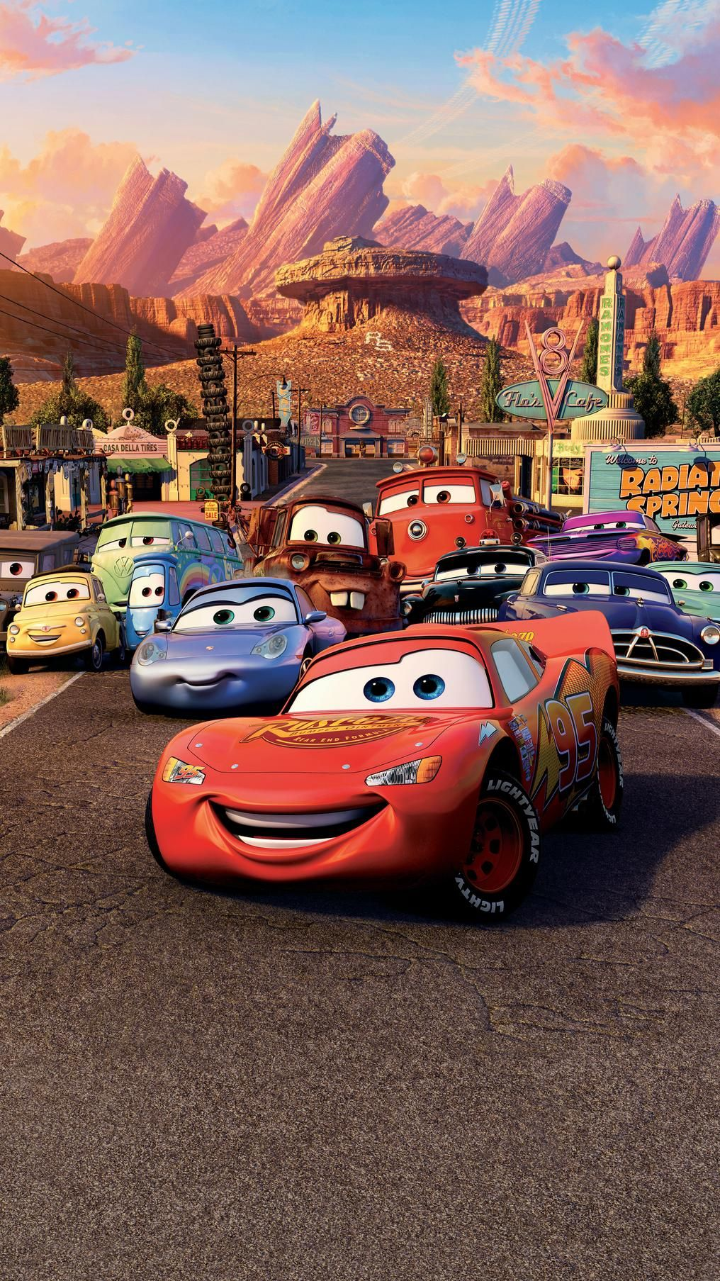 Cars 2006 Phone Wallpaper Moviemania Cars Cartoon Disney Disney Cars Wallpaper Cars Movie