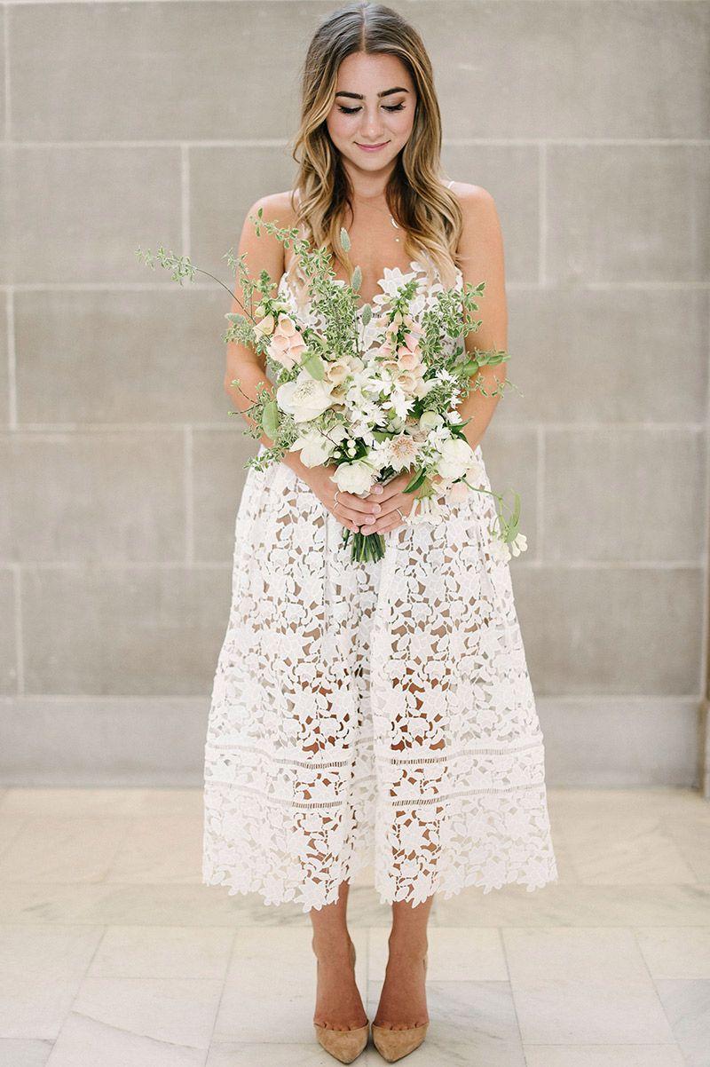 Vestido De Noiva Primeira Coleção Bridal Da Self Portrait