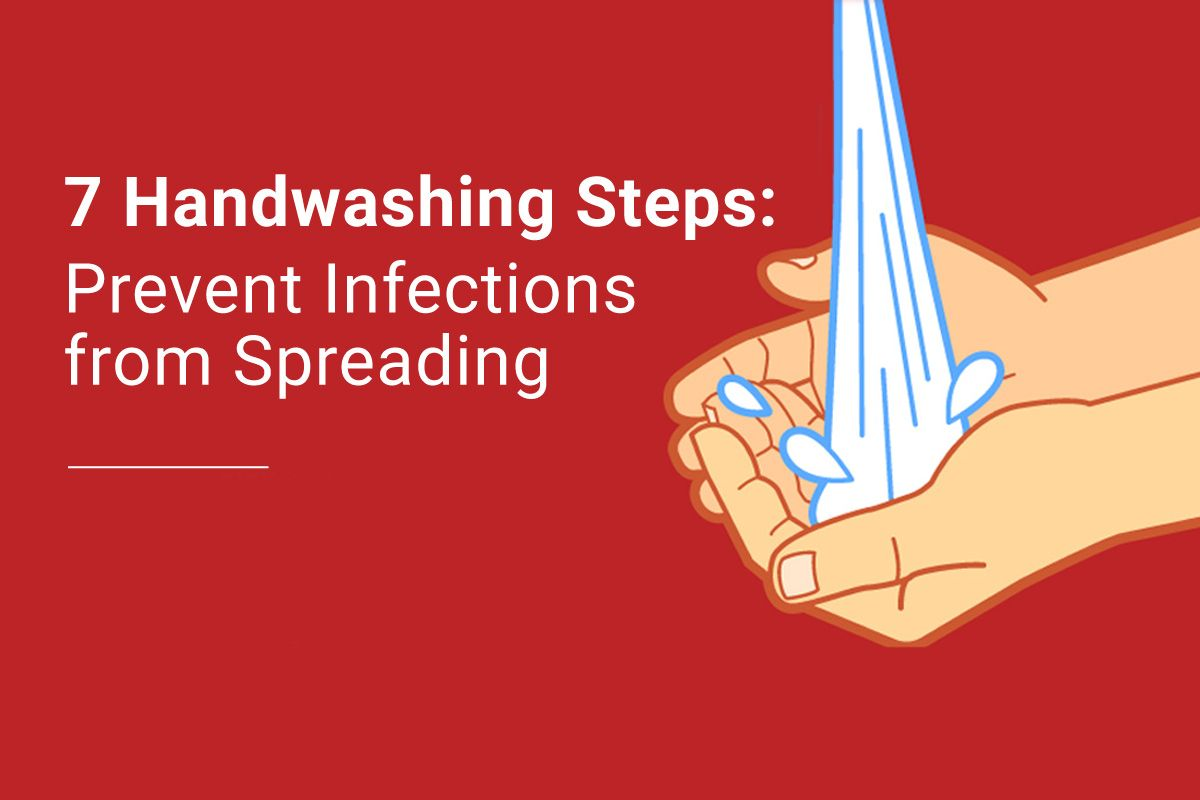 7 Handwashing Steps To Prevent Infections Grainger Industrial
