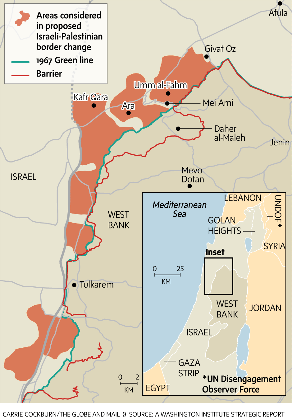 Wadi Ara could be a sticking point in future IsraeliPalestinian