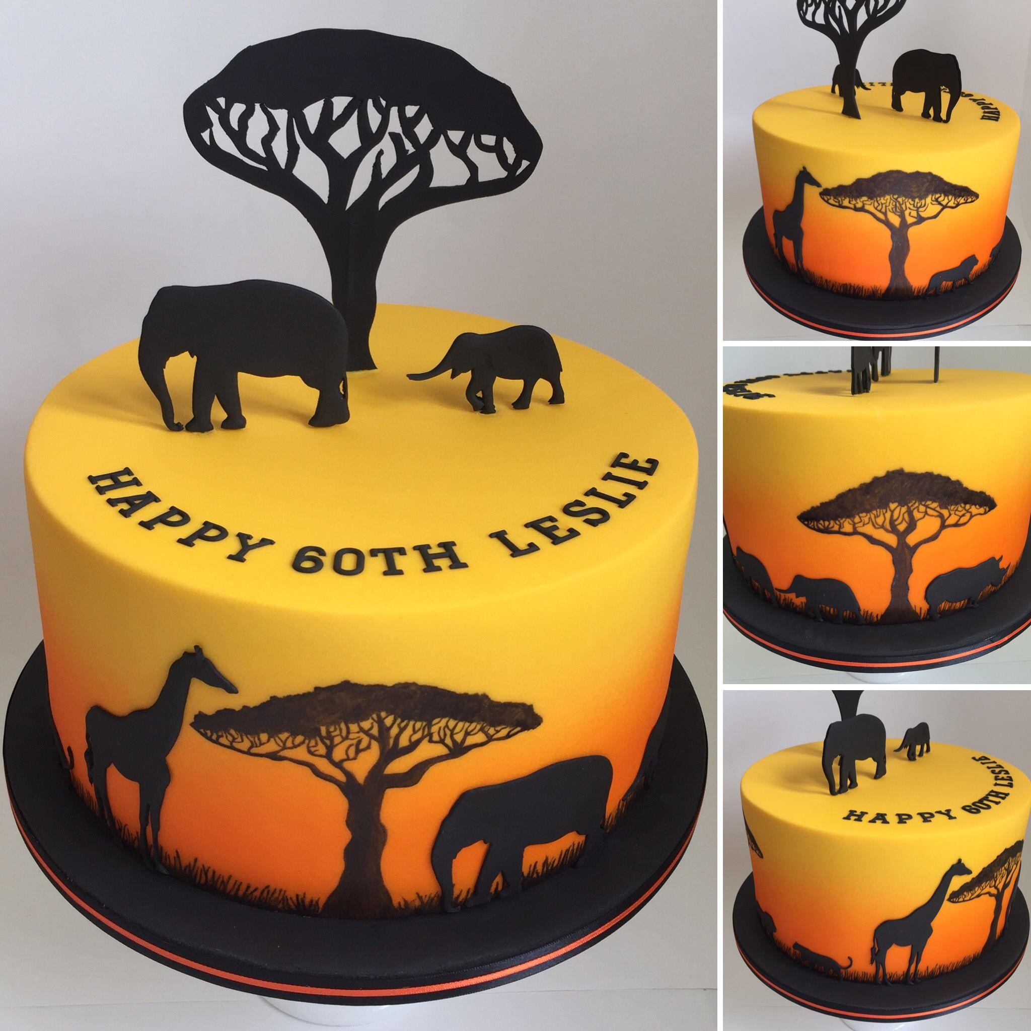 каждого картинка для торта в стиле сафари этом