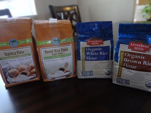 After trying one homemade version after another, we finally settled on this gluten-free flour with these ingredients because it has been the best, closest to the real thing, affordable, and has worked beautifully in any recipe that has required flour and used this as the replacement! So awesome to have found this!