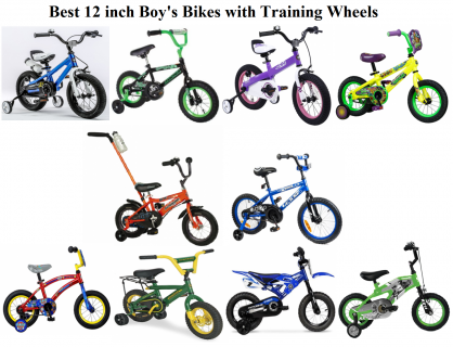 Top 10 Boys Bike In 12 Inch With Training Wheels For 2 To 5 Years