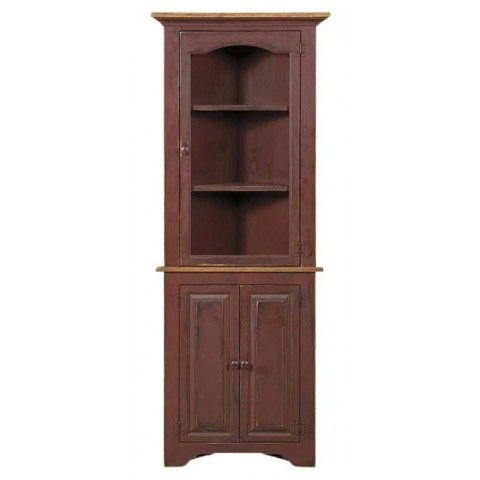 Smallcornercupboardwithglasspeacefulvalleyfurniture Stunning Small Corner Cabinets Dining Room Decorating Design