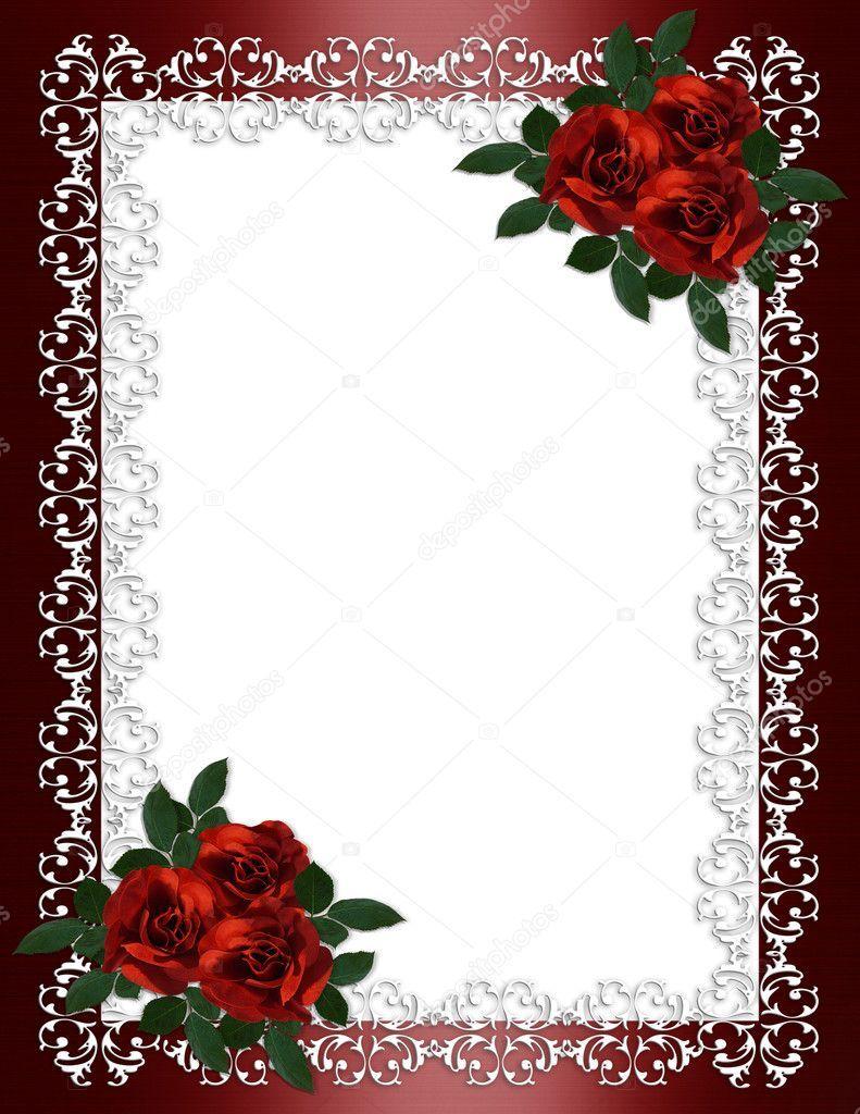 Rosas Marco Ornamental Rojo Borgoña Satén Para Frontera Boda Invitación De Comp Marcos Para Fotografías Descargar Marcos Para Fotos Marcos Para Fotos Gratis